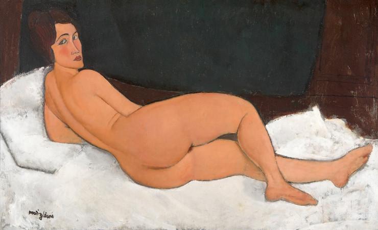 Modiljani, Akt, 1917, privatna kolekcija ©Tate Modern