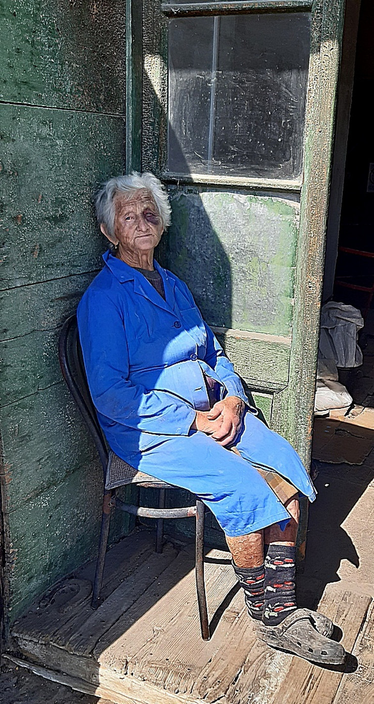 Amalia Sakač , baka pretučena zbog 3.000 dinara