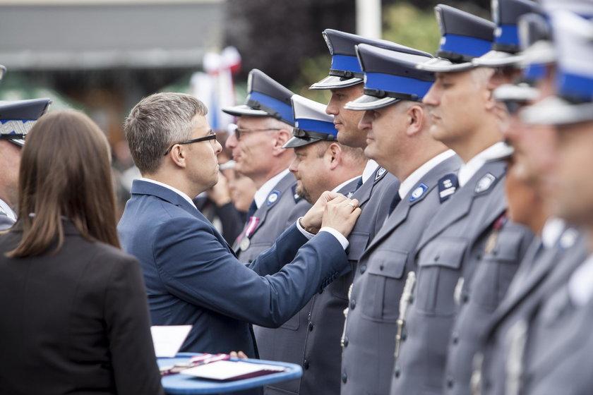 Gliwice: święto policji