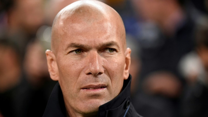 Zinedine Zidane's Real Madrid play at home to Athletic Bilbao on Sunday