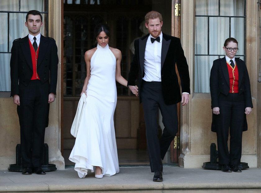 Druga suknia ślubna Meghan Markle