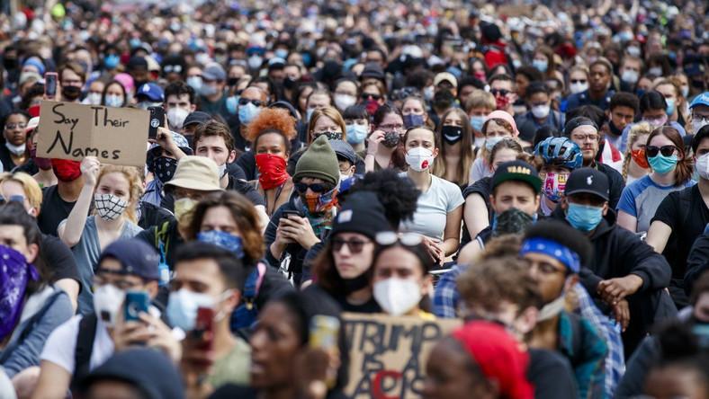 Protest w Waszyngtonie usa