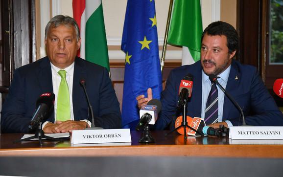 Viktor Orban Mateo Salvini