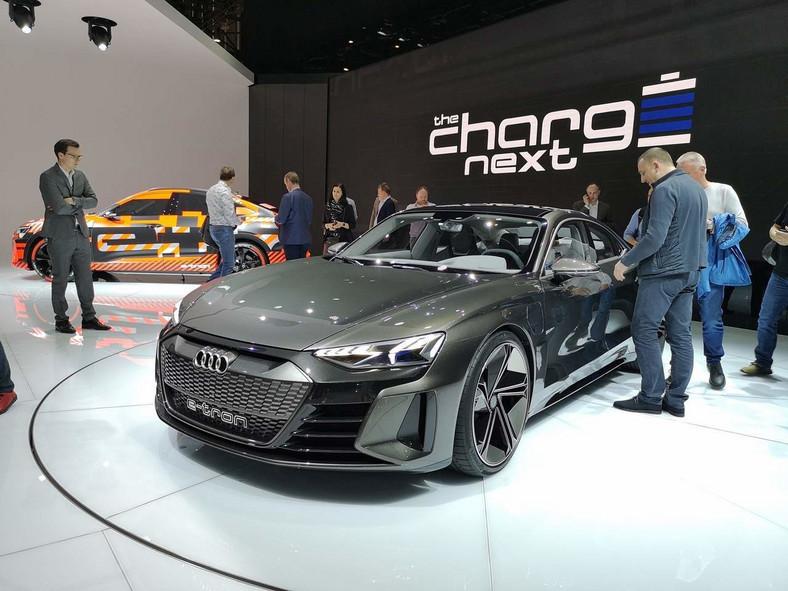 Audi e-tron GT Genewa