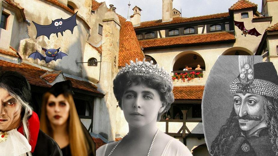 Zamek Bran - gościł Drakulę i królową Marię?