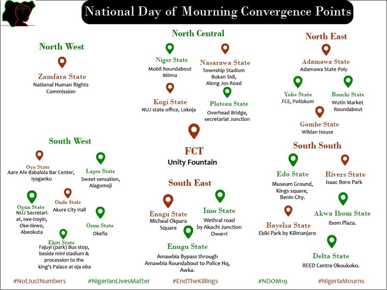 National Day of Mourning (Twitter/EIE)