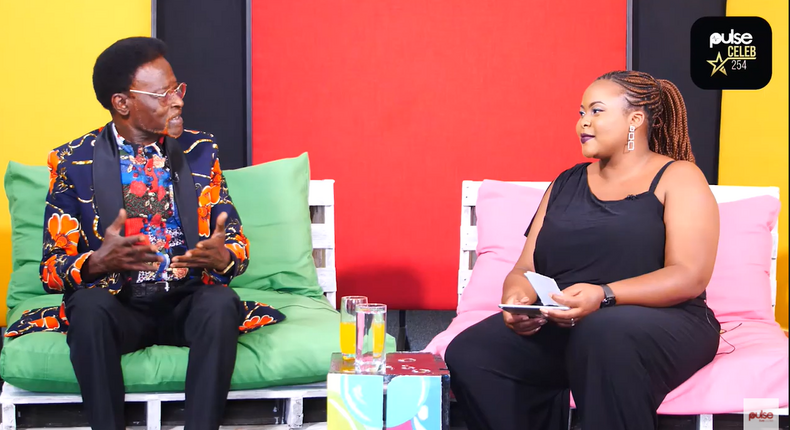 Freshley Lucas Mwamburi and Pulse Live Presenter