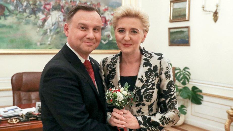 Agata Kornhauser-Duda. Informacje o żonie Andrzeja Dudy [WYBORY 2020]