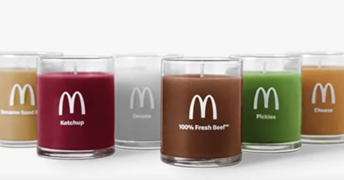McDonald's verkauft jetzt Duftkerzen, die wie die Zutaten deines Lieblingsburgers riechen