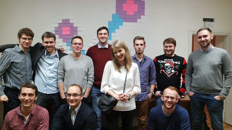 Zespół tworzący jakdojade.pl