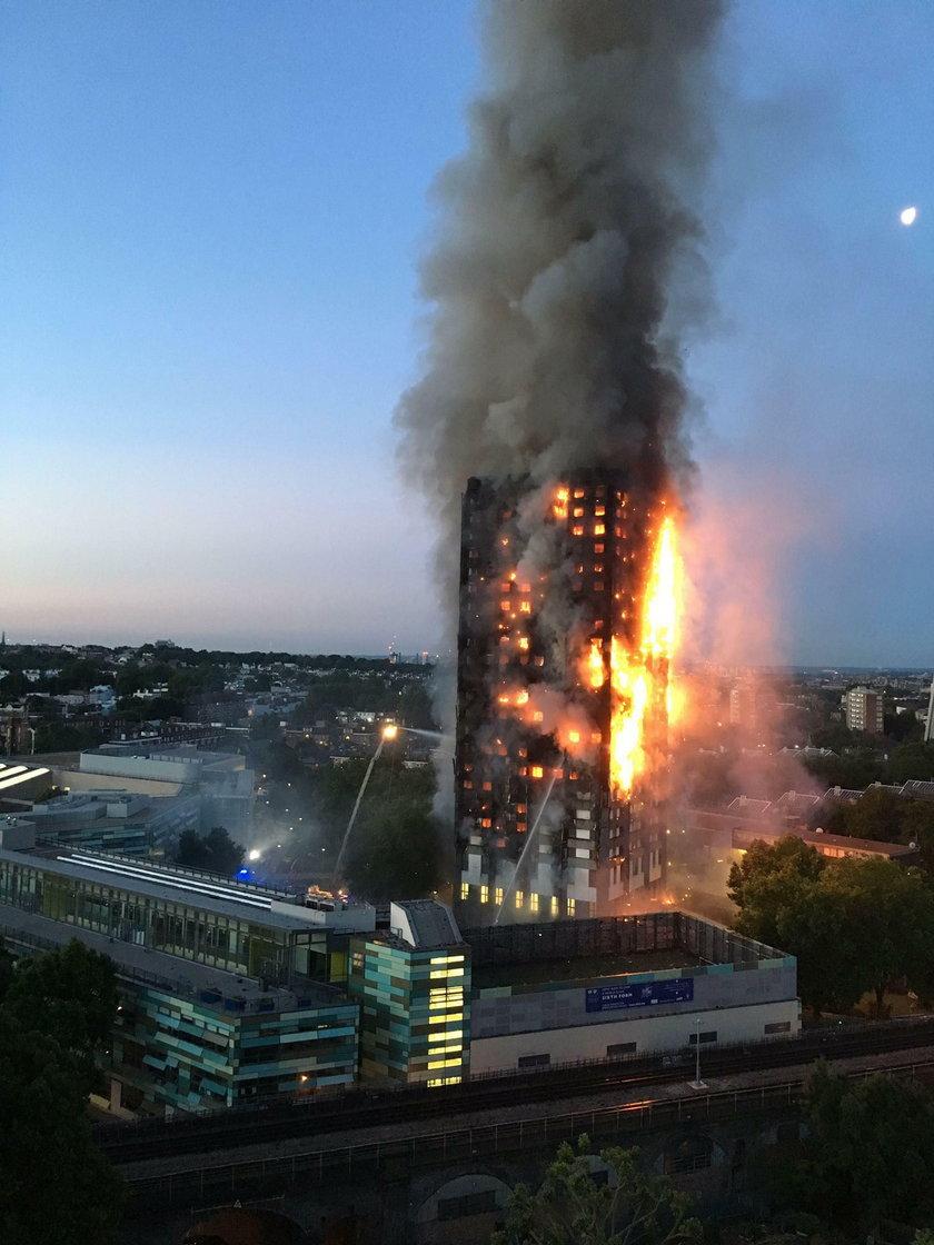 Wrzucał na FB zdjęcia ofiar pożaru w Londynie!