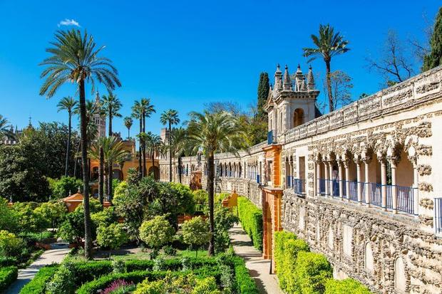 Alcázar, Sewilla, Hiszpania