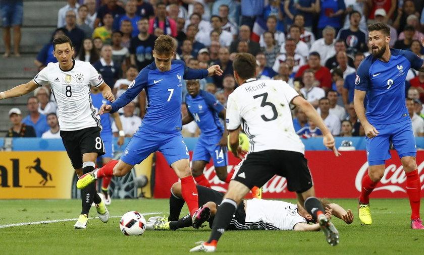 Niemcy Francja EURO 2016