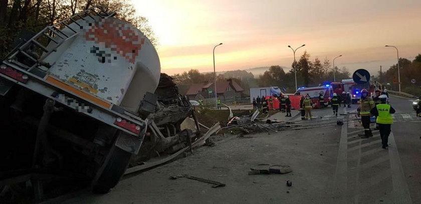 Śmiertelny wypadek w Czekarzewicach Drugich