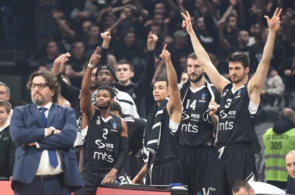 Trinkijeri i košarkaši Partizana