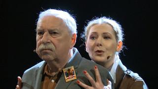 'Wałęsa w Kolonos' z Jerzym Stuhrem. Premierę sztuki można zobaczyć online