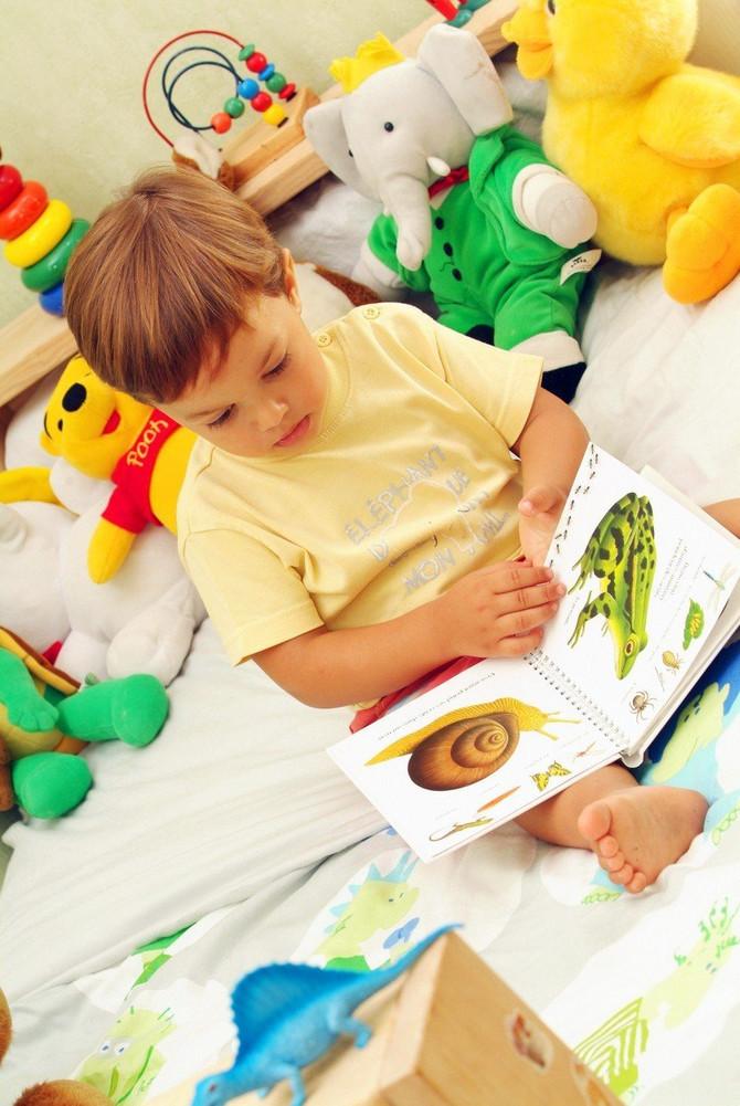 Vrlo je važno da od prvih slika životinja u slikovnici roditelji deci sklapaju priču