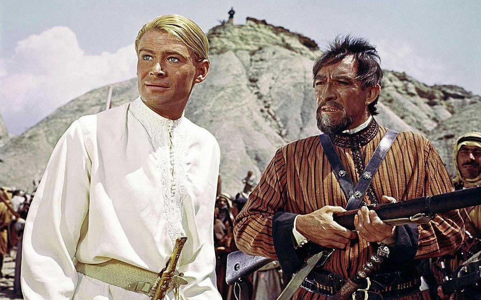 """Lawrence z Arabii"",  reż. David Lean, 1962 r."