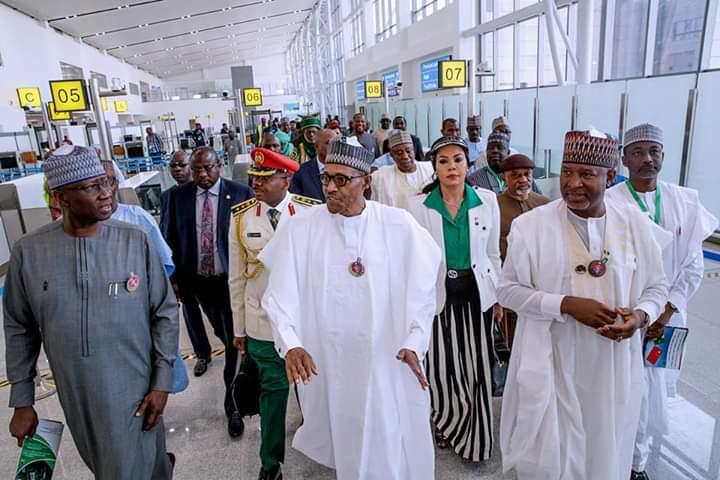 Buhari inaugurates new terminal at Abuja Int'l Airport, says `our promise has been kept'