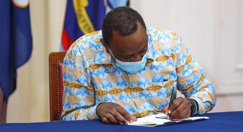 President Uhuru Kenyatta (Courtesy)