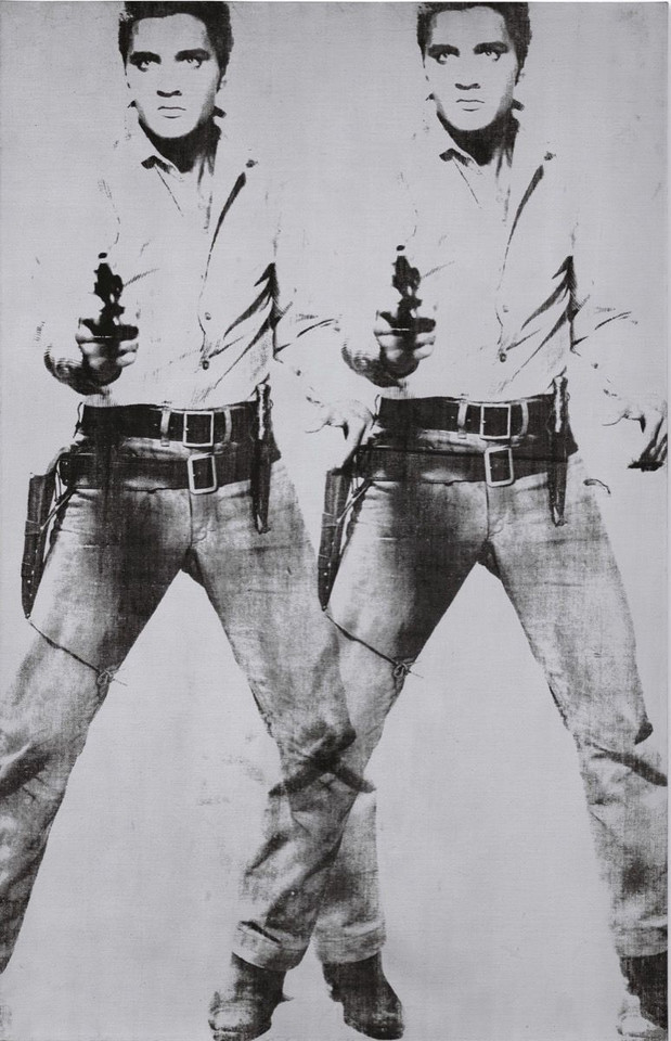 "Andy Warhol, ""Double Elvis [Ferus Type]"" (1963) - 53 000 000 dol."