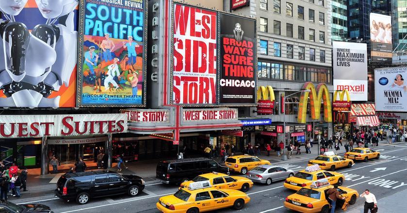 Broadway na nowojorskim Manhattanie
