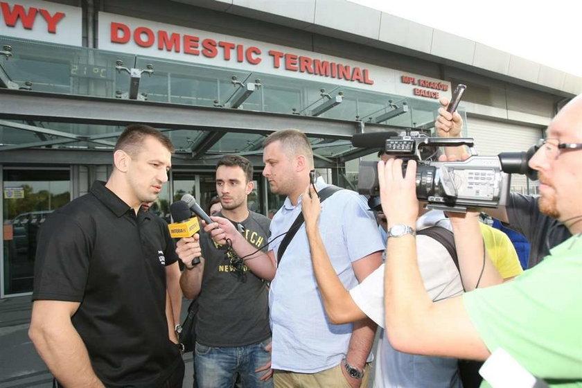 Tomasz Adamek przyleciał już do Polski