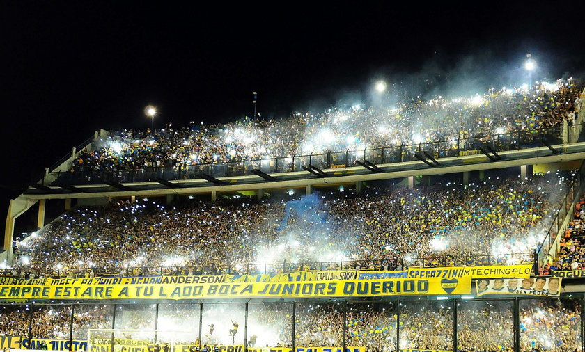 Genialna oprawa kibiców Boca Juniors! WIDEO