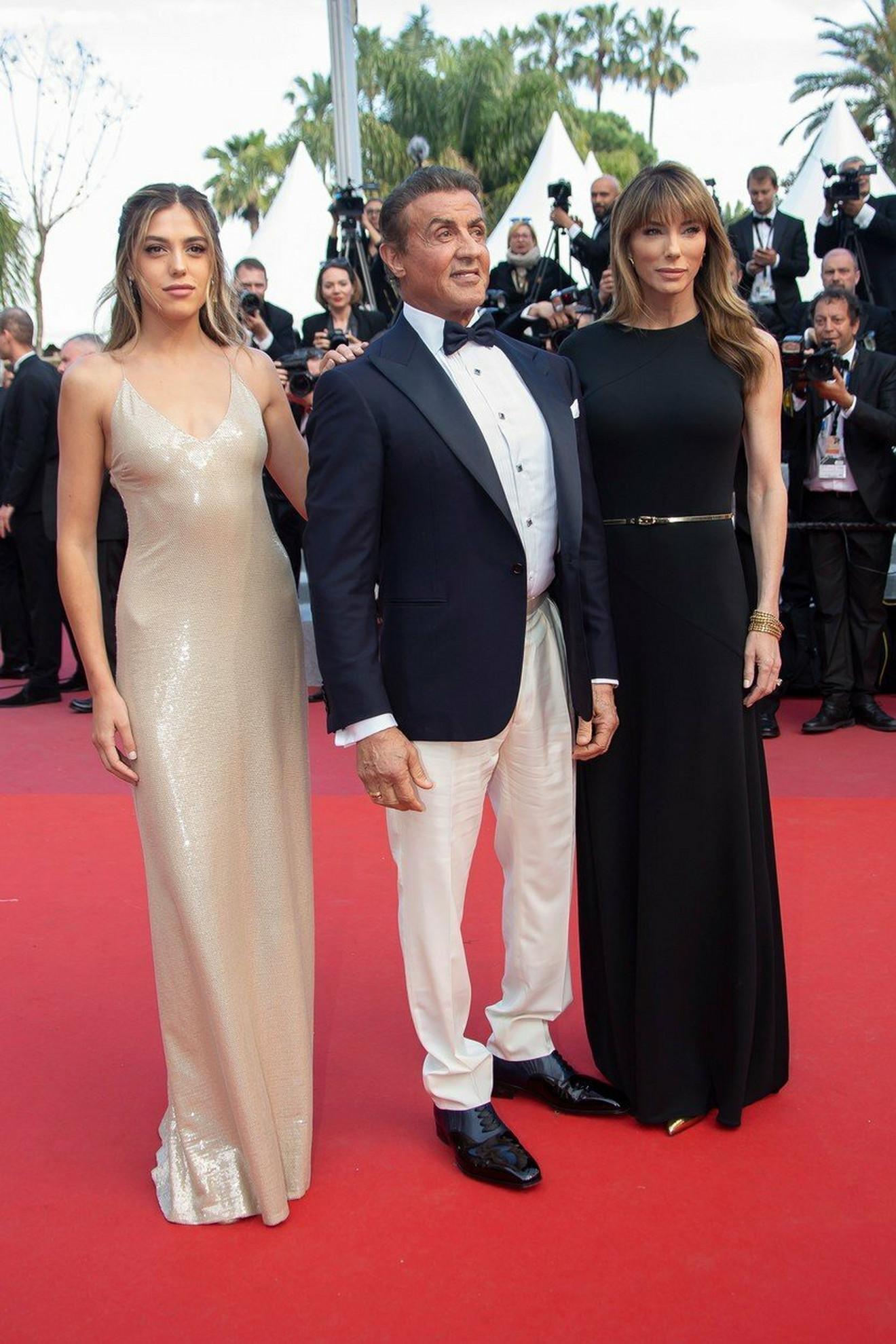 Silvester Stalone sa suprugom Dženifer i ćerkom Sistinom
