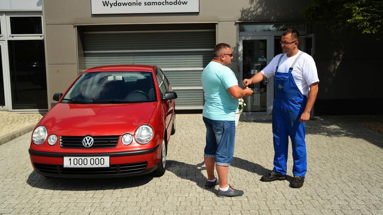 Volkswagen Polo 1.4 TDI z przebiegiem 1 000 000 km