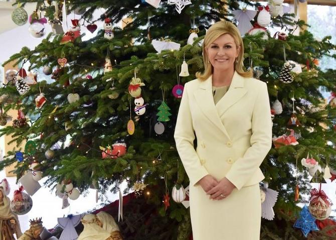 Božićna fotografija Kolinde Grabar Kitarović