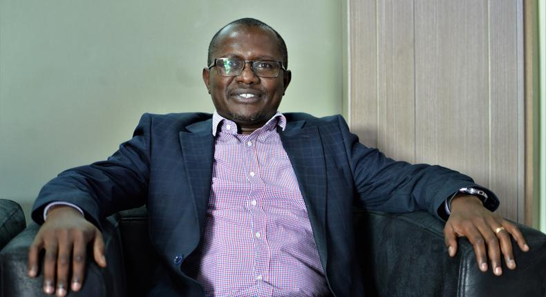 Charles Kimari, Samsung Electronics East Africa Head of Mobile division. (George Tubei)