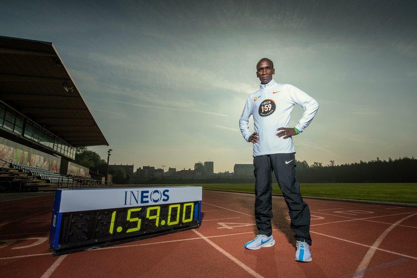 Eliud Kipchoge jest przekonany, że jako pierwszy człowiek przebiegnie maraton w czasie poniżej dwóch godzin