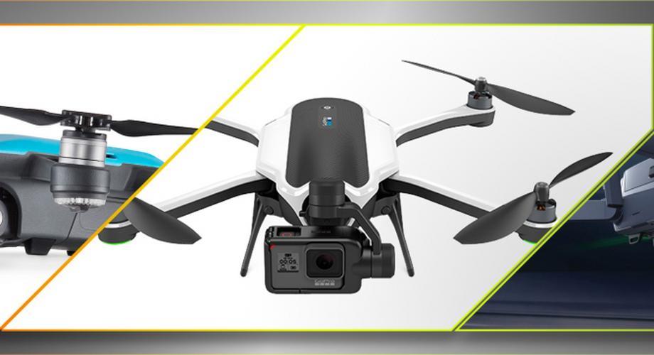 Marktübersicht: Kompakte Drohnen zum Mitnehmen