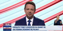 Spięcie w studio TVP. Rafał Trzaskowski kontra prowadzący debatę