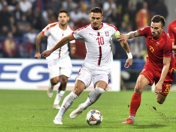 Dušan Tadić je propustio dve velike šanse protiv Crnogoraca