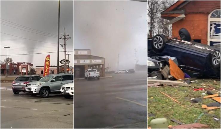 TORNADO PROTUTNJAO KROZ ARKANZAS! Povrijeđeno šest osoba,  oštećeno mnogo kuća i objekata