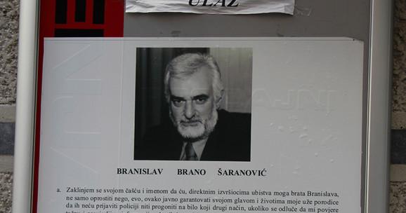 Ubijeni Brano Šaranović