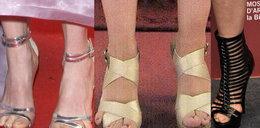Okropne wpadki. Palce wyłażą im z sandałów!