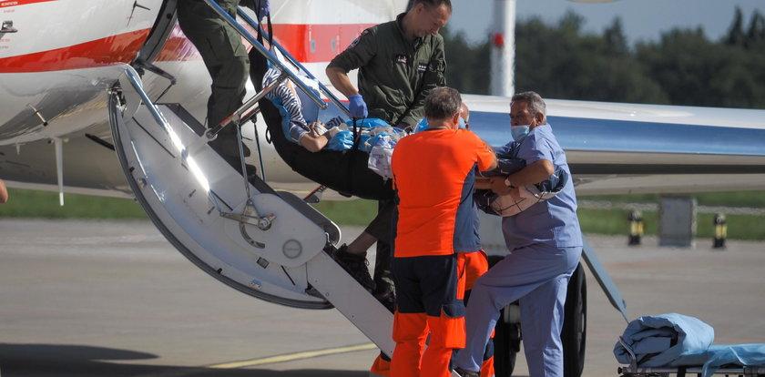 Marynarz wrócił do Łodzi wojskowym samolotem specjalnym