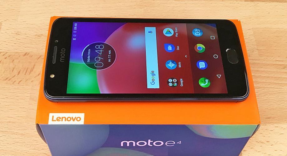 Lenovo / Motorola Moto E4 im Test: günstig, aber ...