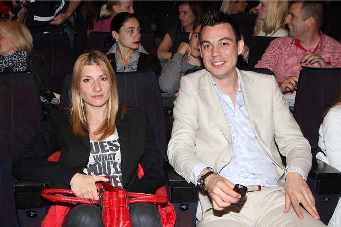Željko Vasić sa suprugom Ivanom