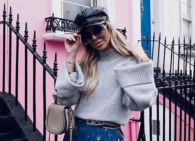 Modna blogerka velika je podrška svom dečku