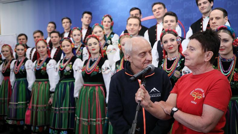 Janusz Kalinowski i Anna Czerwińska