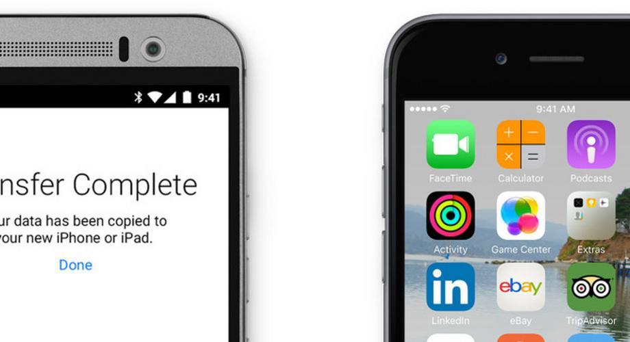 Move to iOS: Umstieg von Android soll leichter werden