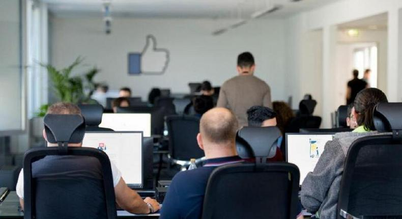 Facebook content review centre in Essen, Germany (Facebook)