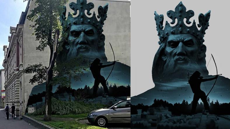 Tak ma wyglądać mural z Kazimierzem Wielkim