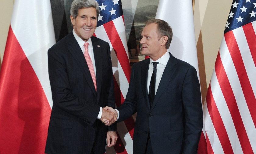 John Kerry w Polsce