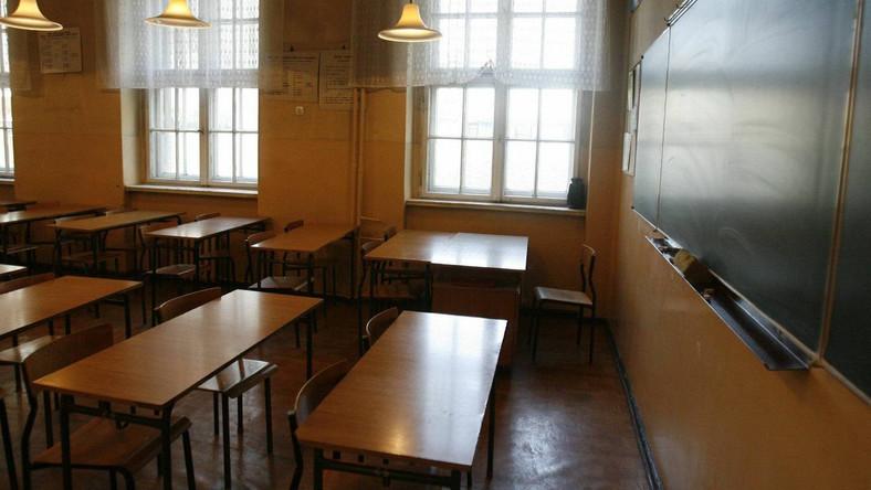 Sala lekcyjna, zdjęcie ilustracyjne