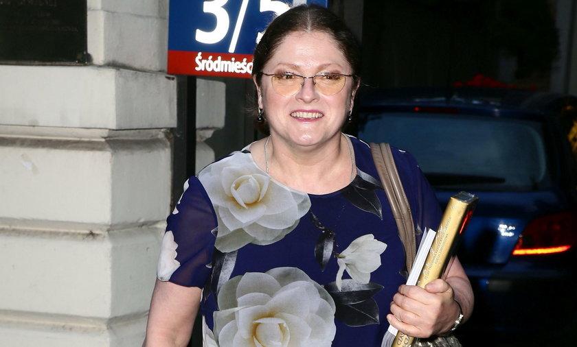 Krystyna Pawłowicz w kwiatach